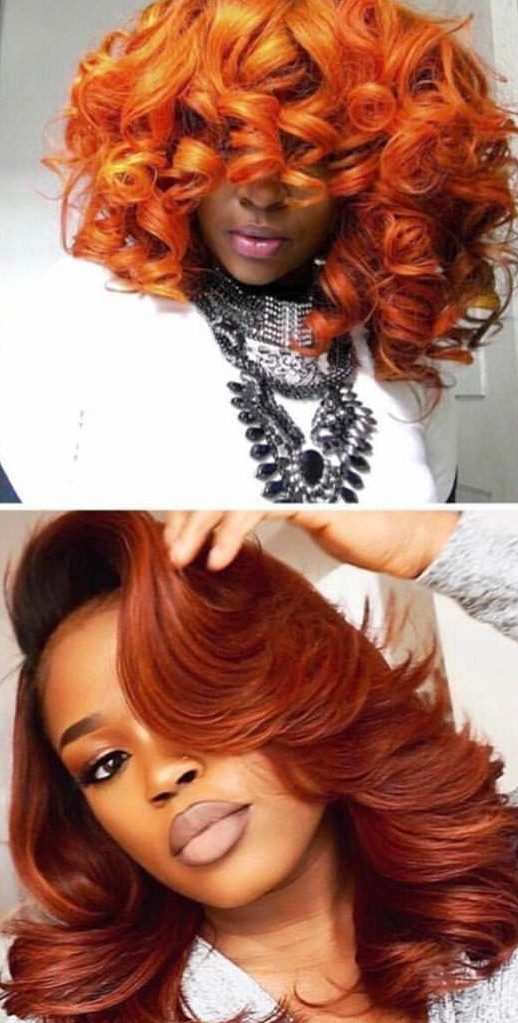 38 Orange Hair Color Ideas That Are Trending For 2019 Hair Colour Style