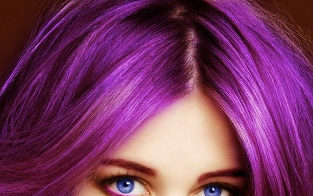shades of purple hair