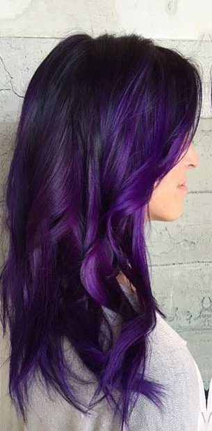38 Shades of Purple Hair Color Ideas You Will Love - Hair Colour Style